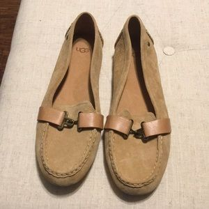 New without Box Ugg Suede Loafer Size 9
